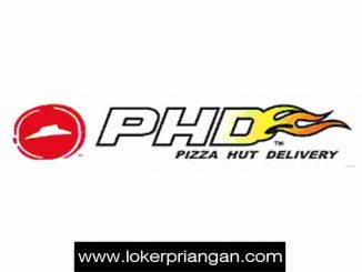loker pizza hut delivery (phd) sumedang